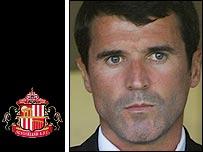 Sunderland manager Roy Keane