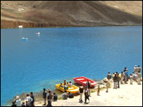 Band-e Amir lake