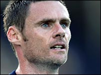 Graham Alexander in action for Preston