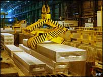 Aluminium production line