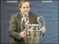 Uefa president Michael Platini