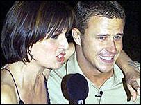 Davina McCall and Craig Phillips