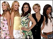 Sam, Amanda, Shabnam, Chanelle and Charley