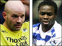 Danny Mills (left) and Sam Sodje