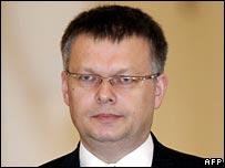Former Polish Interior Minister Janusz Kaczmarek