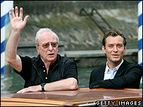 Sir Michael Caine and Jude Law