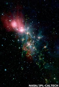 NGC 1333   Image: Nasa/JPL-Caltech
