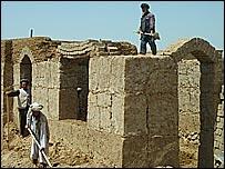 Rebuilding work under way