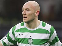 Thomas Gravesen in action for Celtic
