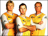 The Aussie Twenty20 kit