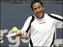 Guillermo Cañas, tenista argentino