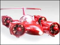 Скайкар - скоростная версия 'летающей тарелки'