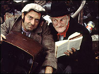 Comedy characters Steptoe and son.