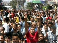 تجمع لأنصار  فتح في قطاع غزة