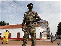Guinea Bissau navy officer
