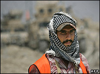 Iraqi Sunni volunteer