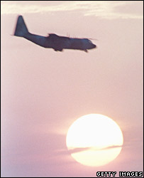 A US C-130 Hercules