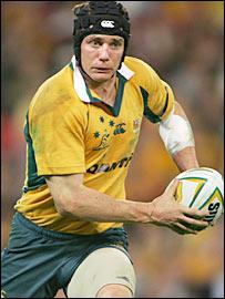 Australia's Stephen Larkham