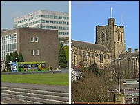Swansea University and Bangor University