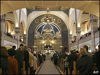 The Rykestrasse synagogue, Berlin