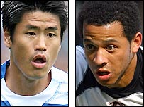 Seol Ki-Hyeon (left) and Liam Rosenior