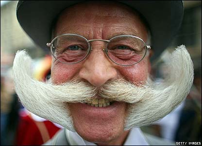World Beard and Moustache Championships competitor