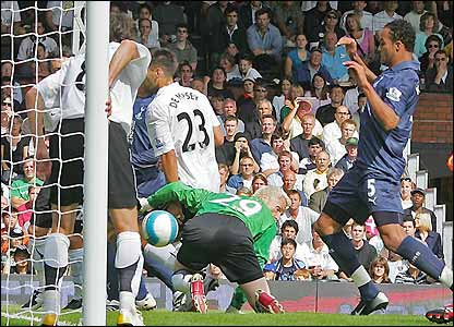Kaboul makes no mistake from close range