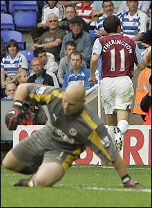 Etherington enjoys his goal