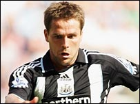 Michael Owen was on target for Newcastle