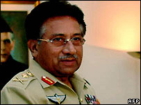 Gen Musharraf. File pic.