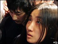 Ko Se-Hoon y Suh Myung-hwa, dos de los rehenes liberados