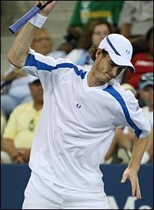 Andy Murray loses his rag against Hyung-Taik Lee