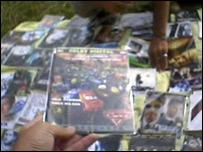 Counterfeit DVDs