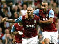 Zat Knight made it a dream debut for Villa