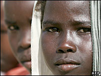 Sudanese children (file)