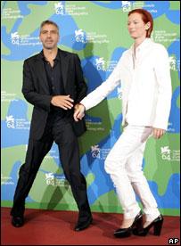 Джордж Клуни и Тильда Суинтон