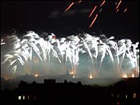 Bank of Scotland Fireworks (Pic: Lorenzo Dalberto)