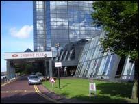 A Glasgow hotel
