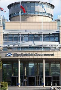 Scottish Government building in Edinburgh