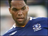 Everton defender Joleon Lescott