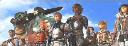 Screenshot from Final Fantasy XI, Square Enix