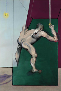 Study from the Human Body, Man Turning on the Light, by Francis Bacon