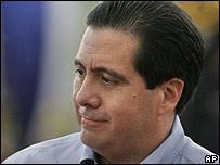 El presidente de Panamá, Martín Torrijos.