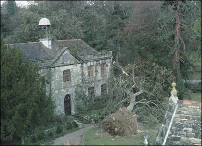 Wakehurst Place after the 1987 storm