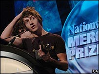 Arctic Monkeys at Mercury Prize 2006