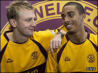 Stephen Hughes (left) and Lewis Grabban