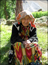 Бабушка Лангарен