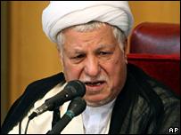 Akbar Hashemi Rafsanjani (4 September 2007)