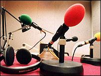 Micr�fonos de la BBC