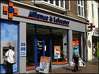Alliance & Leicester branch